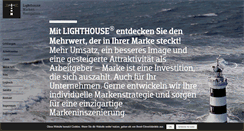Preview of lighthouse.de